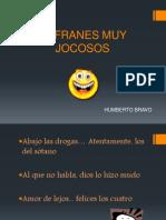 Refranes Muy Jocosos
