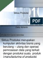 Siklus Produksi