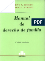 30085972 Bossert Gustavo Zannoni Eduardo Manual de Derecho de Familia