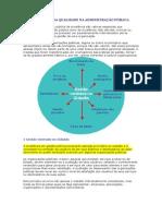 Princípios Da Qualidade Na Administração Pública