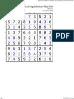 596 Sudoku Sol