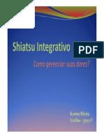 Shiatsu No Alívio Das Dores