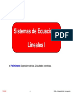 CN Sistemas Ecuaciones Lineales I