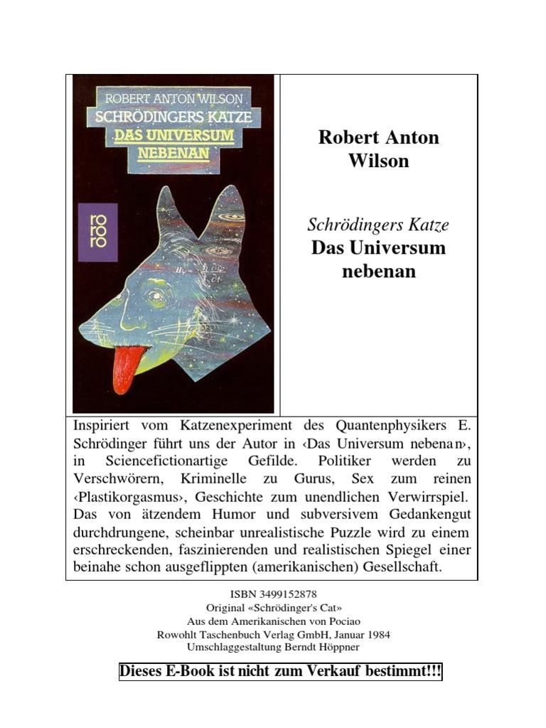 Wilson, Robert Anton - Schroedingers Katze - Das Universum Nebenan