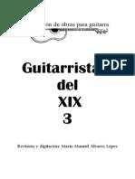 3 Antología de Guitarristas Del XIX