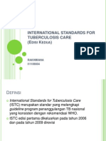 Dt-International Standards for Tuberculosis Care