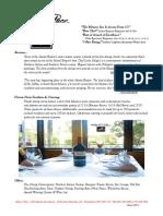 Dinner Banquet Info MARIO'S PLACE 10.30.13