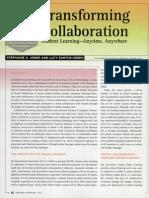 Transforming Collaboration