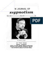 Journal of Hypnotism, Vol 1, No 1, May 1951