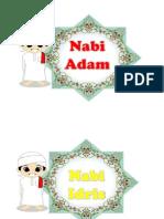 Nama-nama Nabi