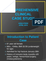 clinical - comprehensive clinical case study powerpoint