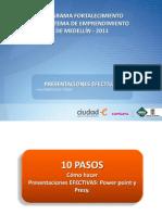 10 Pasos Pres Efectivas en Ppt y Prezy Hab Gciales Ciudad e 2011