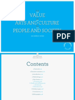 The Value of Arts and Culture to People and Society an Evidence Review Mar 2014