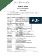 STJ - Pauta - 1ª Seção - 14.05.2014
