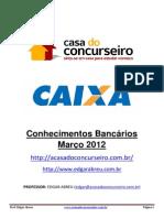 Conhecimentos Bancarios1 Cef 2012