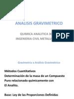 Analisis Gravimetrico Pres.