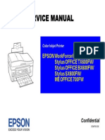 Service Manual Epson TX600FW Stylus Office