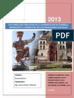 El Impacto Socioeconómico de Los Programas Sociales en La Población de Huancavelica