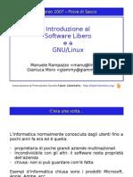 Introduzione al Software Libero 2007