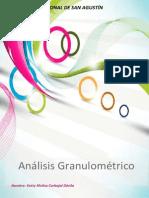 Pav. Analisis Granulom