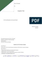General Linguistics_Linguistic Task