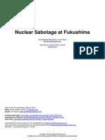 Nuclear Sabotage at Fukushima
