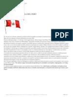 El Dia de La Bandera Del Perú