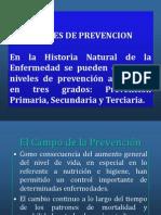 Niveles de Prevencion