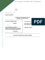 CELG v ACT - CELG Response Markman Brief