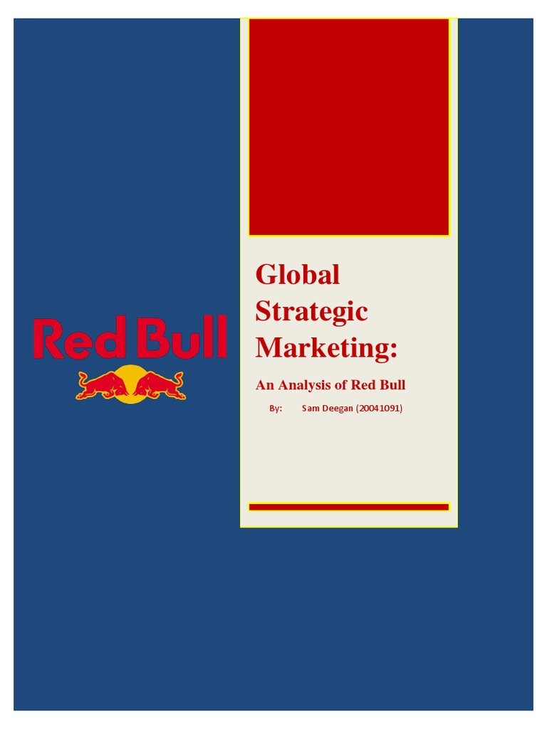 red bull marketing essay Check out our top free essays on red bull marketing mix to help you write your own essay.