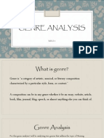 genre revision - mwa 3 to powerpoint
