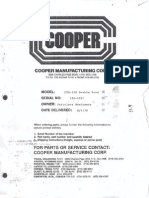 Malacate Ppal Cooper LTO-350 Double Drum
