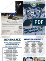 2013-2014 Indiana Ice Game Program-First Edition