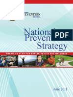 National Prevention Strategy 2011