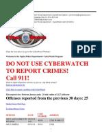 Cyberwatch Email
