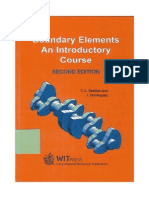 C. a. Brebbia, J. Dominguez Boundary Elements an Introductory Course 1992