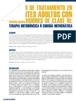 50 Decision de Tratamiento en Pacientes Adultos Con Maclusiones de Clase Iii1
