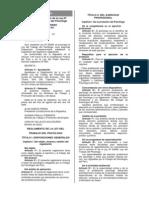 Reglamento de Ley Del Trabajo Del Psicologo (1)