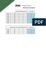 Internal Assessment Calculator Reg-2008