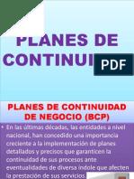 Planes de Continuidad