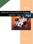 Advanced English Conversation - Mini Dictionary