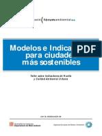 Modelos e Indicadores de Las Ciudades Más Sotenibles