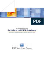 Revisions to FERPA Guidance, an ESP Optimal Reference Book