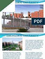 China - Zhenzhou University