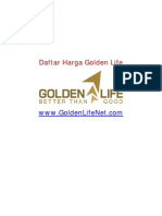 Daftar Harga Golden Life