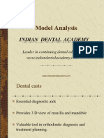 Model Analysis2 / orthodontic courses by Indian dental academy