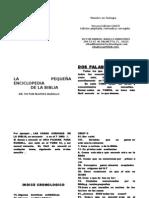 5461180 La Pequena Enciclopedia de La Biblia Wps