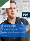 Microsoft Innovation Framework