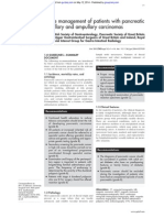 Guidelines 2005 for Pancreatic Cancer