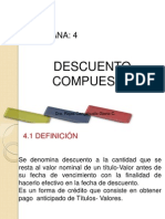 DESCUENTO_COMPUESTO